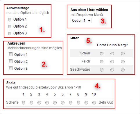 Google Umfrage