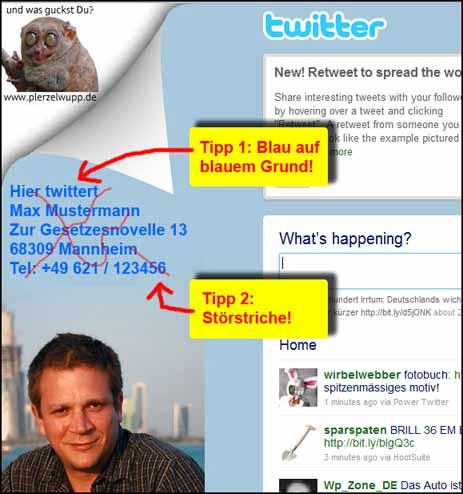 Twitter-Captcha anlegen